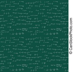 mathematik, handschrift, seamless