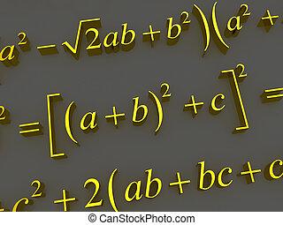 mathematisch, formulas.