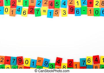 mathematisch, rahmen