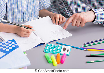 Maths is not hard at all when you have a good teacher - Shot...