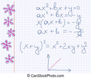 maths notebook paper