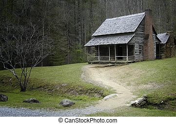 Matilda Shields Cabin, Cades Cove - Rustic Cabin in...