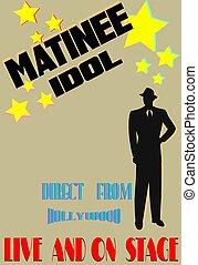 matinee idol poster board