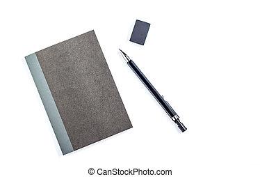 matita, carta, blocco note