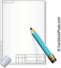matita, carta, disegno