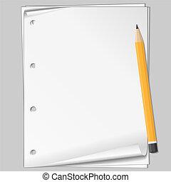 matita, carta