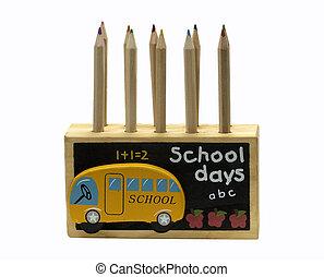 matita legno, supporto