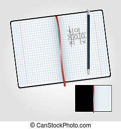 matita, quaderno