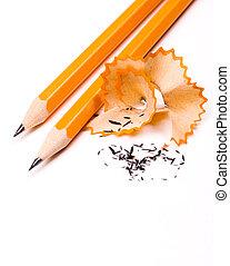 matita, sfondo bianco