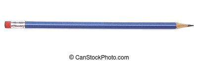 matita, sopra, sfondo bianco