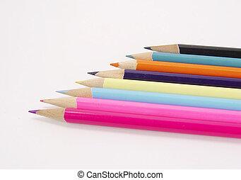matite, 3, colorato