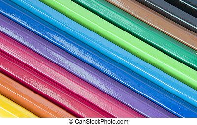 matite, colorito