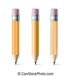 matite, giallo