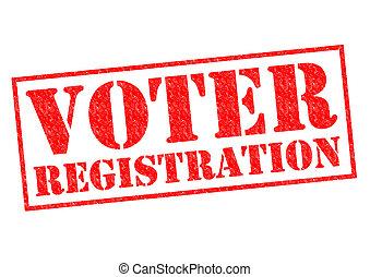 matrícula votante