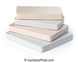 Matratzenstapel  3d weißes matratze stapel Illustrationen und Stock Art. 14 3d weißes ...