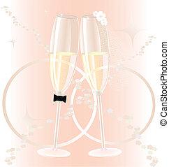 matrimonio, occhiali