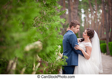 matrimonio, parco