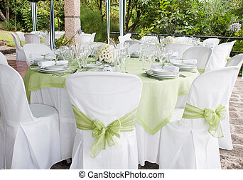 matrimonio, tavola