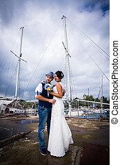 matrimonio, yacht, stile