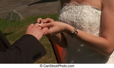 Matrimony: Put On Rings