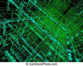 matrix, abstrakt