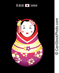 Matryoshka japan girl - Matryoshkas of the World: japanese...