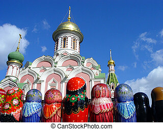 Matryoshkas at Red Square