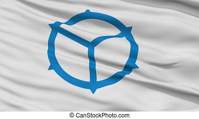 Matsue Capital City Close Up Flag - Matsue Capital City...