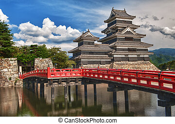 Matsumoto castle - Beautiful medieval castle Matsumoto in...