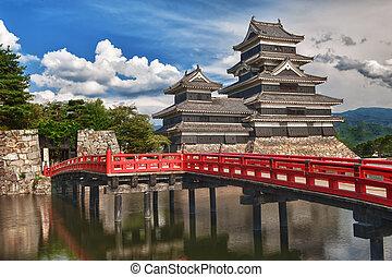 Matsumoto castle - Beautiful medieval castle Matsumoto in...