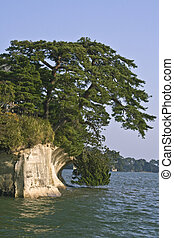 Extreme landscape in Matsushima, one of the best three landscape areas in Japan.