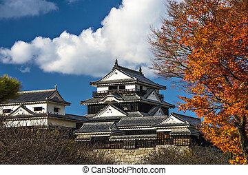 Matsuyama Castle - Matsuyama Catle in Matsuyama, Japan.