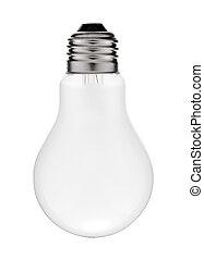 Matt electric lamp