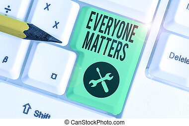 matters., showcasing, happens, conceitual, mostrando, mão, tudo, foto, everyone, negócio, picture., escrita, maior, parte