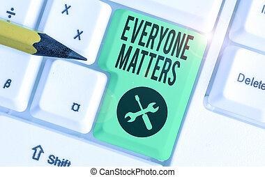 matters., showcasing, happens, conceptuel, projection, main, tout, photo, everyone, business, picture., écriture, plus grand, partie