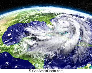 matthew, ouragan, floride, approchant