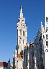 Matthias Church at Buda Castle in Budapest, Hungary