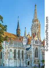 Matthias Church, Budapest, Hungary
