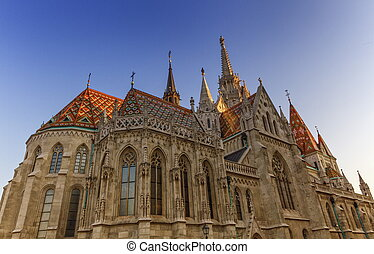 Matthias Church, Budapest, Hungary - Colorful Matthias...