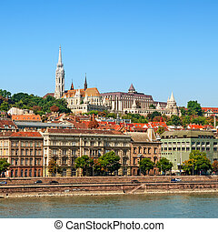 Matthias Church and River Danube