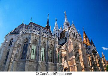 Matthias Church. Budapest, Hungary