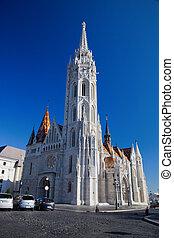Matthias Church. Budapest, Hungary - Matthias Church on...