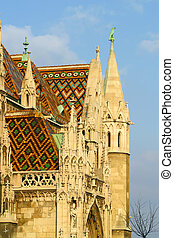 Matthias Church Budapest Hungary.