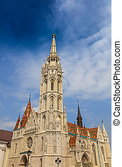 Matthias Church, Budapest Hungary.