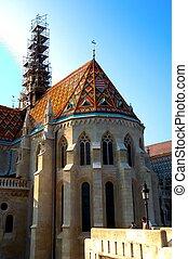 matthias church budapest, hungary