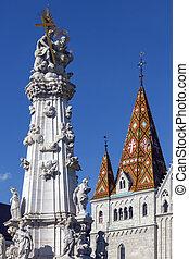 Matthias Church - Budapest - Hungary - Holy Trinity Square...