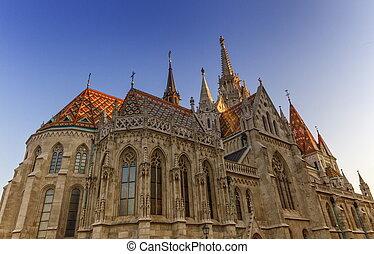 Matthias Church, Budapest, Hungary - Colorful Matthias...