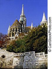 Matthias Church, Budapest - Matthias Church and Fisherman's...