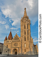 Matthias church in Buda Castle, Budapest, Hungary