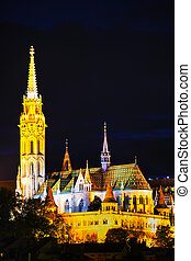 Matthias church in Budapest, Hungary